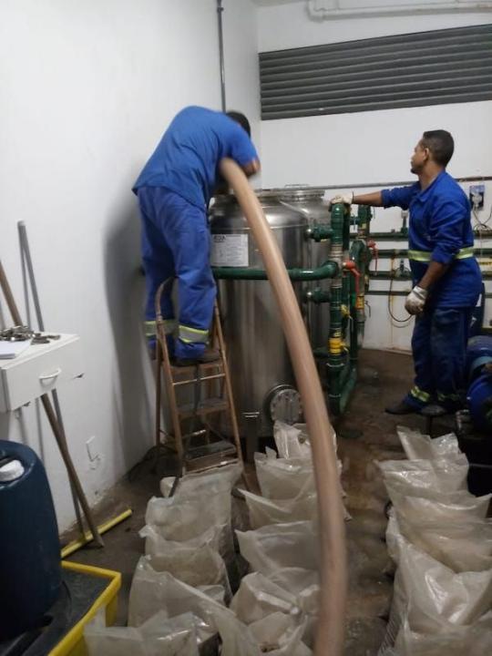 Manutenção Filtro Central