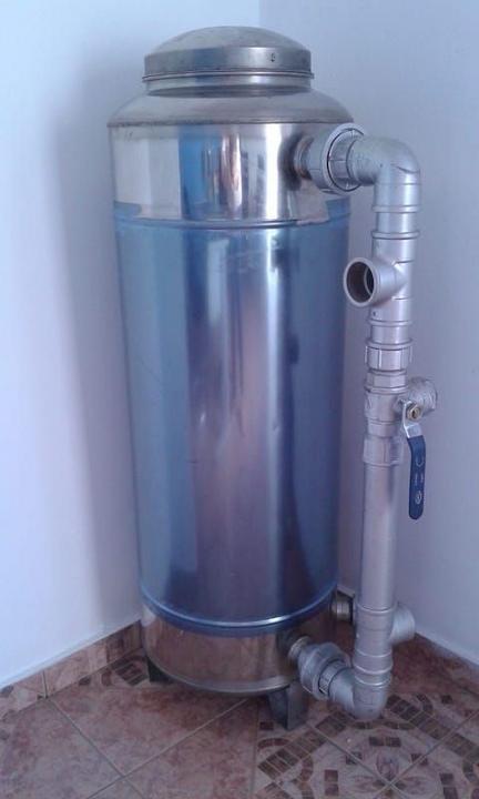 Quartzo para filtro de água