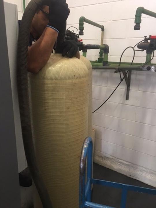 Serviços de tratamento de água