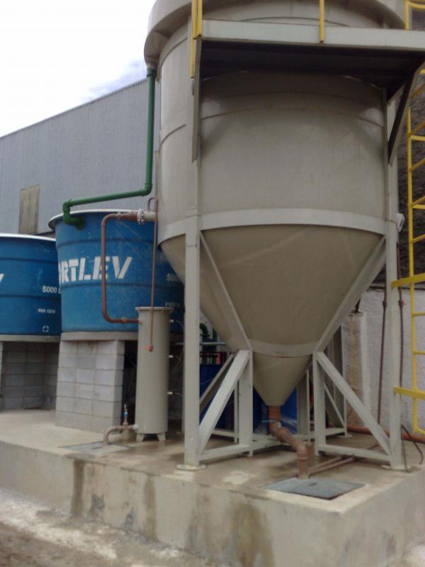 Sistema De Tratamento De Agua Industrial